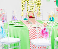 Modern, Colorful DIY Wedding Tablescape