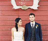 Rustic Fall Wedding Portraits