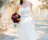 Rustic Fall Wedding Dress
