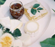 White Garden Wedding Food Inspiration