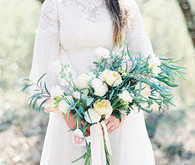 White Garden Wedding Floral Inspiration