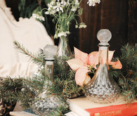 Rustic Christmas inspired decor