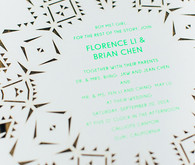 Whimsical California Wedding Invitation