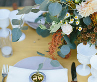 Whimsical California Wedding Place Setting