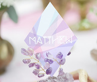 Modern Bohemian Wedding Escort Cards
