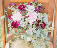 Modern Bohemian Wedding Bouquets