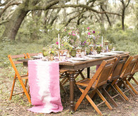 Modern Bohemian Wedding Tablescape Tablescape