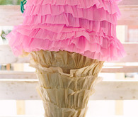 ice cream piñata