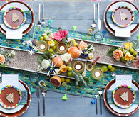 Mexican themed tablescape