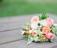 Spring anemone and rose bouquet | 100 Layer Cakelet