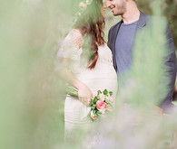 Spring, bohemian maternity photos by Jen J Photography | 100 Layer Cakelet