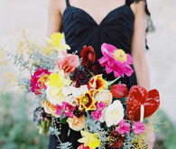 Exotic bridal bouquet