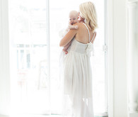 Mother and baby lifestyle photos by Poiema Photography | 100 Layer Cakelet