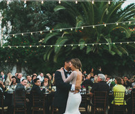Southern California desert wedding
