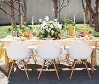Spring modern tablescape