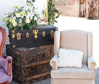 Vintage event furniture