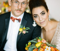 Mid-century modern wedding inspiration