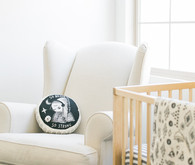 White nursery inspiration and newborn photos by Hello Pinecone