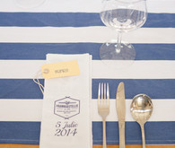 Nautical themed place setting