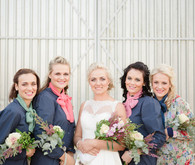 Colorful South African Wedding Bridesmaids