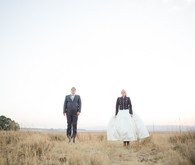 Colorful South African Wedding Portraits