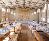 Colorful South African Wedding Reception