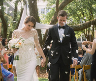 Elegant Playful Charleston Wedding Ceremony
