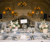 Elegant Charleston wedding tablescape