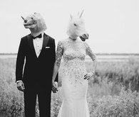 Playful Charleston wedding portraits
