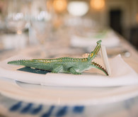 Crocodile escort card