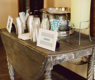 Wedding beverage station