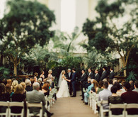 Modern Nebraska wedding ceremony