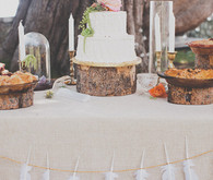 Colorful Bohemian Big Sur Wedding Decor