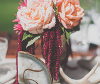 Colorful Bohemian Wedding Table Numbers