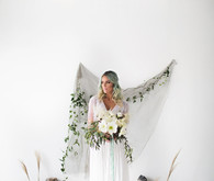 Bohemian Seaside Wedding Inspiration Bride