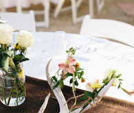 Intimate 20 Palms Wedding Decor
