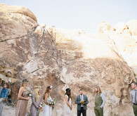 Intimate 20 Palms Wedding