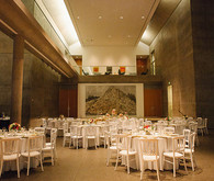 Modern Art Museum wedding reception
