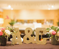 Modern Art Museum Wedding Signage