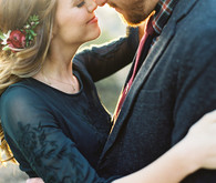 Romantic Griffith Park Engagement Shoot