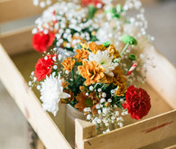 Vintage Portugal Wedding Flowers