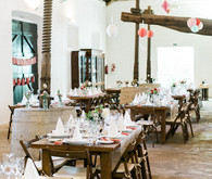 Vintage Portugal Wedding Reception