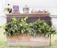 Old World Vintage Wedding Bar