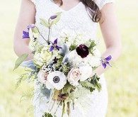 Old World Vintage Wedding Florals