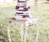 Old World Vintage Wedding Cake