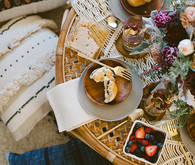 Bohemian New Years brunch inspiration
