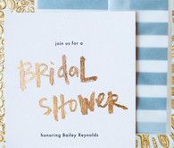 New Year's Bridal Shower Inspiration