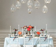 New Year's Bridal Shower Tablescape