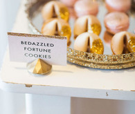 Bedazzled fortune cookies