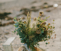 Golden Fall Coastal Wedding Inspiration